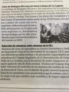 Maridaje La Topa Gil Luna
