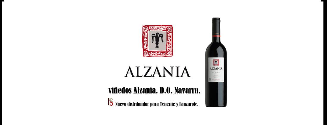 Bodegas Alzania. D.O. Navarra.