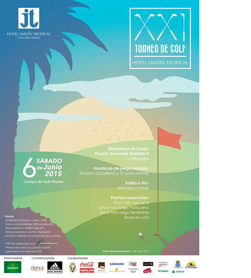 Torneo de Golf Hotel Jardín Tropical