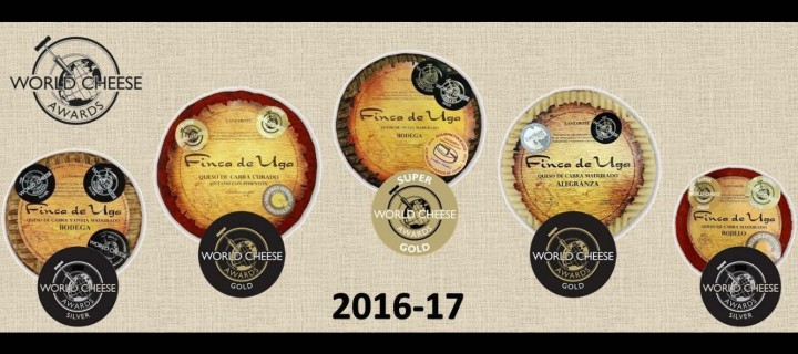 Premios finca de Uga en Word Cheese Awards