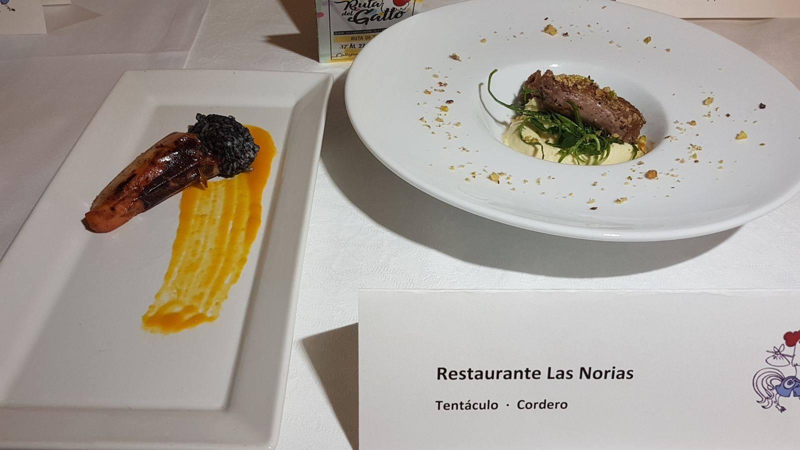 Premio Gallo de Plata para restaurante Las Norias
