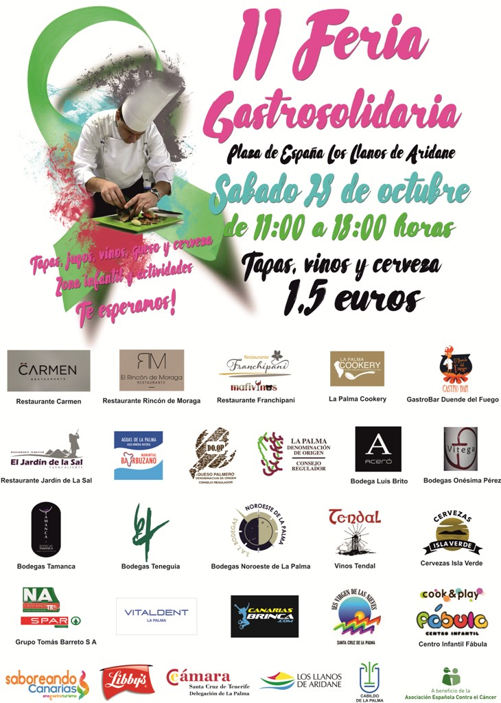 II Feria Gastrosolidaria