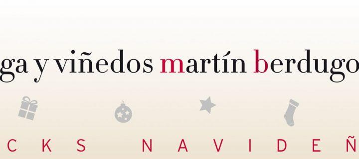 Llegaron los Packs Navideños de Bodegas Martín Berdugo