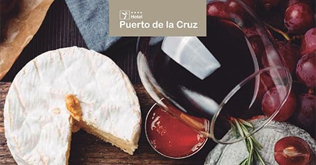 Vinos, quesos y mieles de Canarias en el Puerto de la Cruz.