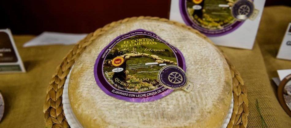 El queso de cuajo vegetal El Cortijo de Caideros, premiado como el mejor de Canarias de 2017